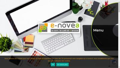 Site internet de E-Novea