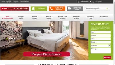 Site internet de La Parqueterie