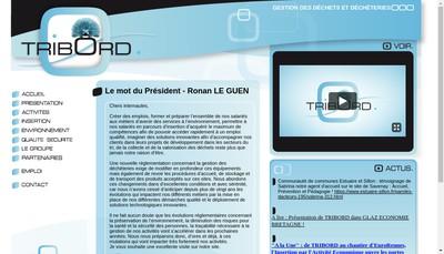 Site internet de Tribord