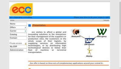 Site internet de Eric Chassaing Consulting