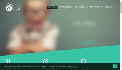 Site internet de SARL Ealys