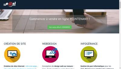 Site internet de E@Si Services