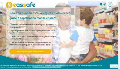 Site internet de Eassafe