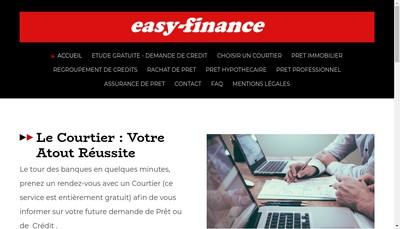 Site internet de Easy - Finance