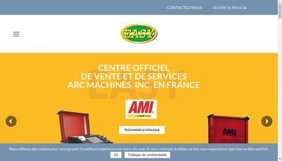 Site internet de Easy