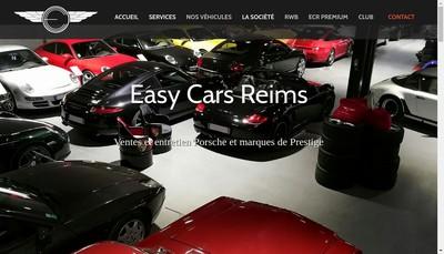 Site internet de Easy Cars Reims