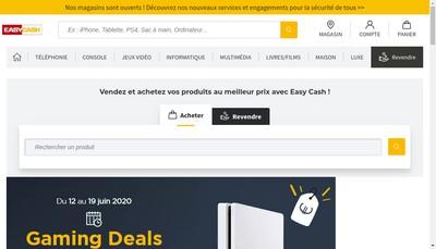 Site internet de Easy Cash