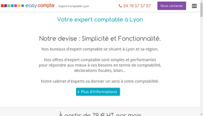 Site internet de Easy Compta Idea