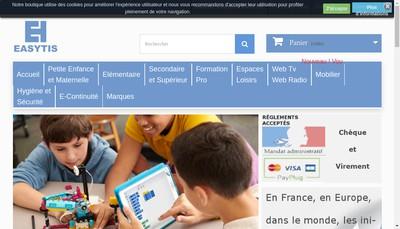 Site internet de Easytis