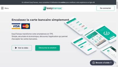 Site internet de Easytransac