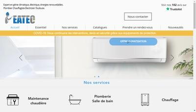 Site internet de Eatec