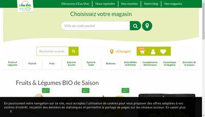 Site internet de L 'Eau Vive
