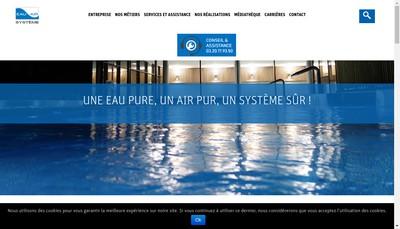 Site internet de Eau Air Systeme
