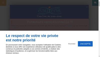 Site internet de Eauxens