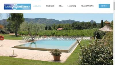 Site internet de EP Construction