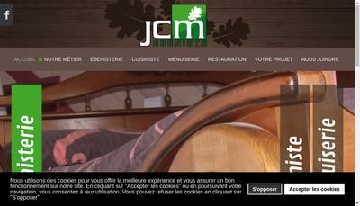 Site internet de Jcm Ebeniste