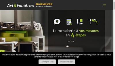 Site internet de Eb Menuiserie