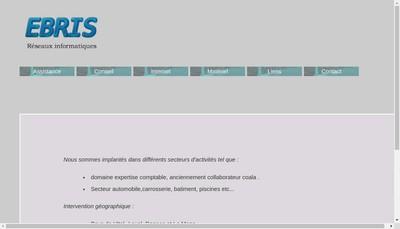 Site internet de Ebris