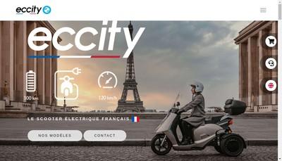 Site internet de Eccity Motocycles