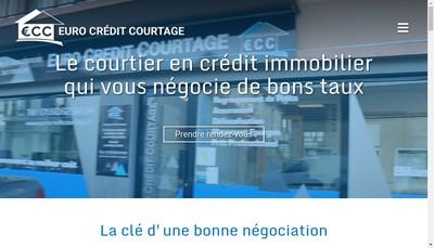 Site internet de Euro Credit Courtage