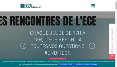 Site internet de ECE
