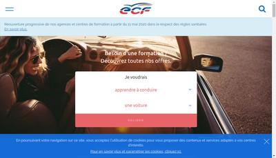 Site internet de Ecf Services