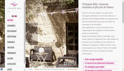 Site internet de L'Echappee Belle