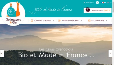 Site internet de Colimacon & Cie