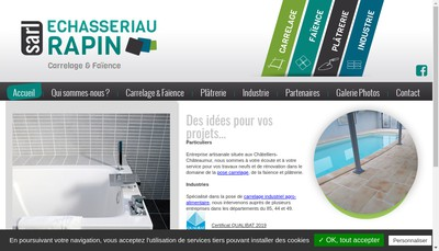 Site internet de SARL Echasseriau Rapin
