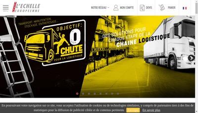 Site internet de L'Echelle Européenne