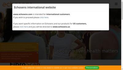 Site internet de Echosens