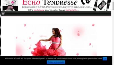 Site internet de SARL Echo Tendresse
