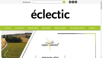 Site internet de Eclectic
