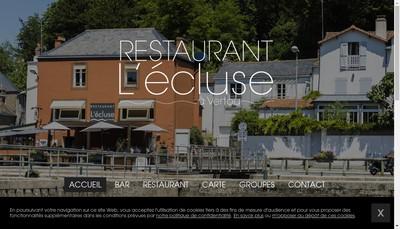 Site internet de L'Ecluse