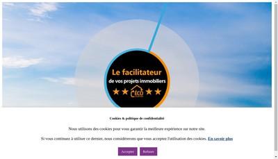 Site internet de Eco Courtier