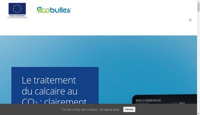 Site internet de Ecobulles