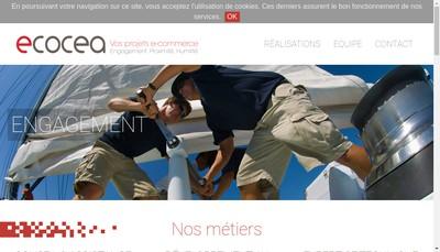 Site internet de Ecocea