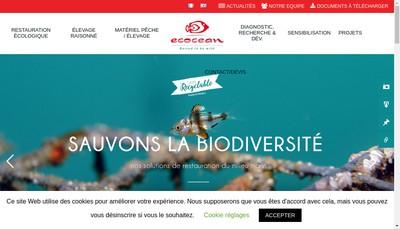 Site internet de Ecocean