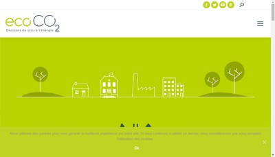 Site internet de Eco Co2 Holding