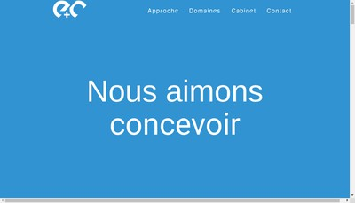 Site internet de Eco Construire