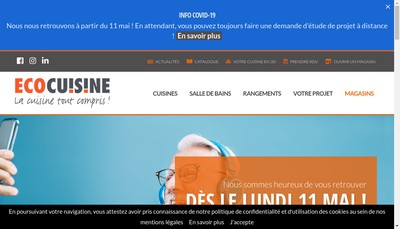 Site internet de Ecocuisine