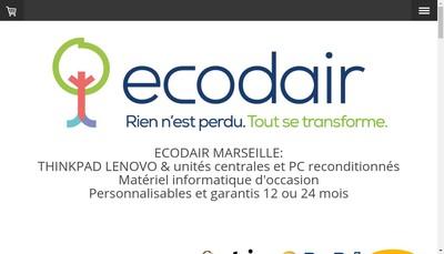 Site internet de Ecodair Ea-Paca