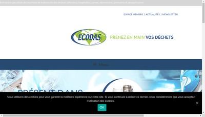 Site internet de Ecodas