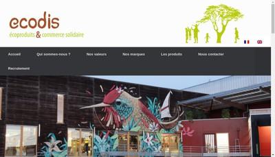 Site internet de Ecodis