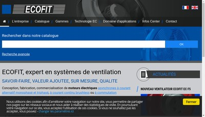 Site internet de Ecofit