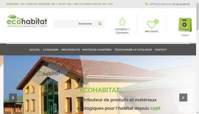 Site internet de EURL Ecohabitat