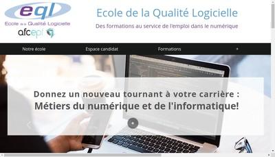 Site internet de Afcepf