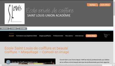 Site internet de Saint Louis Union Academie