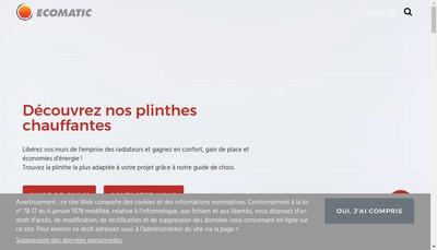 Site internet de Eco-Matic