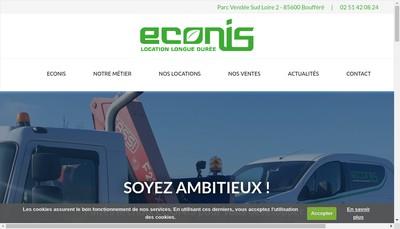 Site internet de Econis